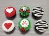 Cupcakes cebra