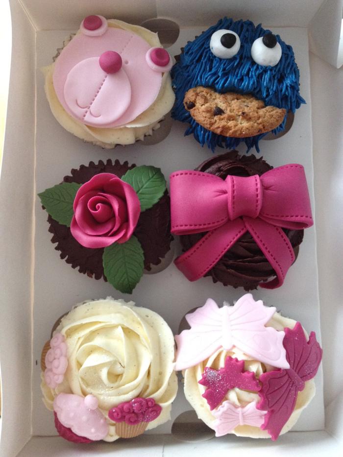 Cupcakes taller de Alma Obregón