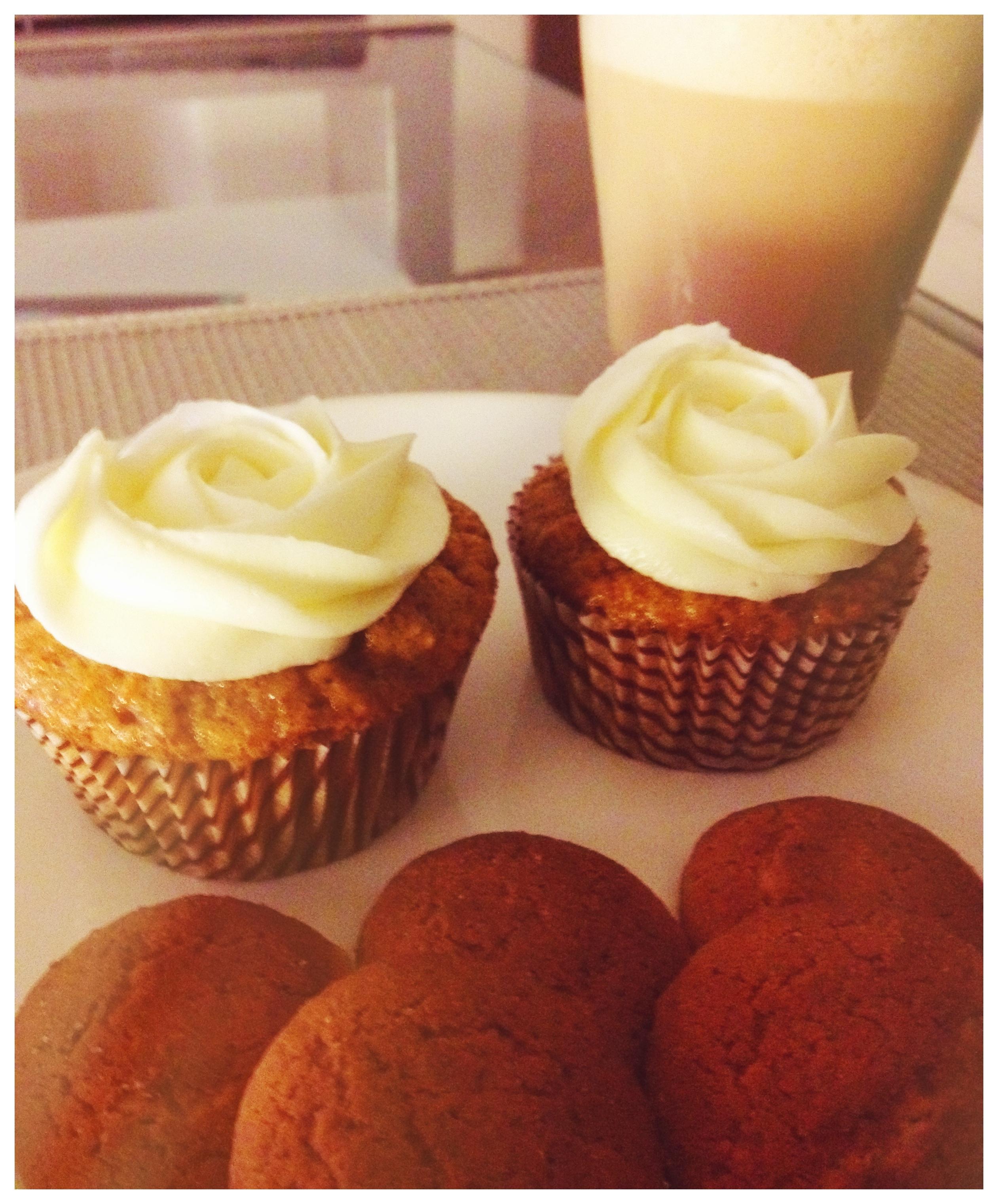 cupcakes zanahoria